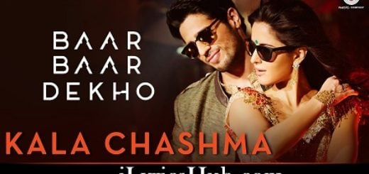 Kala Chashma Lyrics (Full Video) - Baar Baar Dekho | Sidharth, Katrina