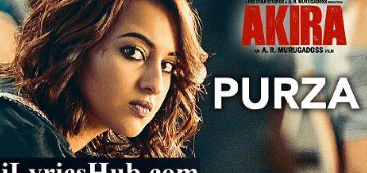 Purza Lyrics From Akira | Arijit Singh |