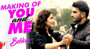 You And Me Lyrics - Befikre | Ranveer Singh, Vaani Kapoor |