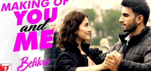 You And Me Lyrics - Befikre   Ranveer Singh, Vaani Kapoor  