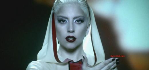 Alejandro Lyrics (Full video) - Lady Gaga English Song