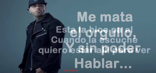 El Amante Lyrics (Full Video) - Nicky Jam Latest Song 2017