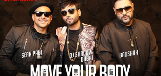 Move Your Body Lyrics ft. Badshah | DJ Shadow Dubai | Sean Paul |