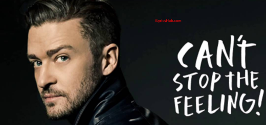 Can't Stop The Feeling Lyrics (Full Video) - Justin Timberlake