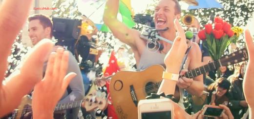 A Sky Full Of Stars Lyrics (Full Video) - Coldplay