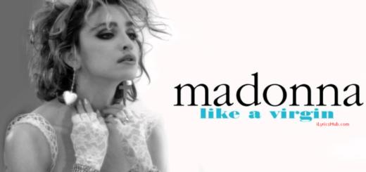 Like A Virgin Lyrics - Madonna