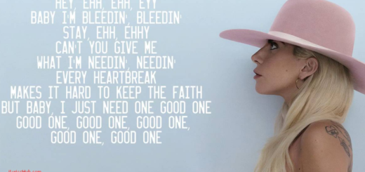 Million Reasons Lyrics - Lady Gaga
