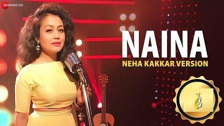 Naina Lyrics Neha Kakkar Version | Dangal
