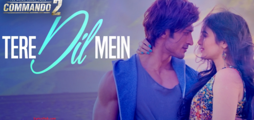 Tere Dil Mein Lyrics (Full Video) - Commando 2 Vidyut Jammwal, Adah Sharma