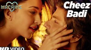 Cheez Badi Lyrics - Machine |Udit Narayan & Neha Kakkar |