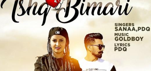 Ishq Bimari Lyrics (Full Video) - SANAA Feat. PDQ , GOLDBOY