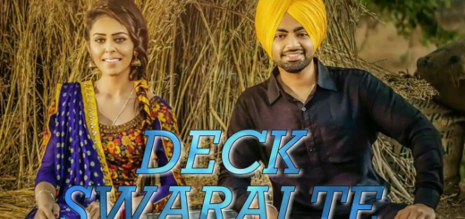 Deck Swaraj Te Lyrics - Jenny Johal feat. Jordan Sandhu