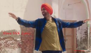 Hawa Vich Lyrics (Full Video) - Diljit Dosanjh