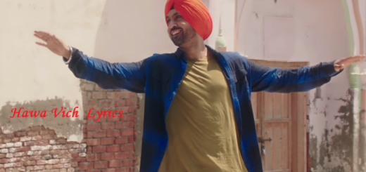 Hawa Vich Lyrics (Full Video) - Diljit Dosanjh