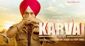 Karvai Lyrics (Full Video) - Tarsem Jassar