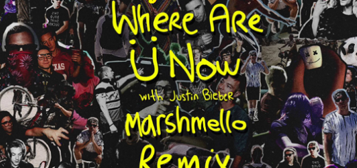 Where Are U Now Lyrics (Full Video) - Jack U