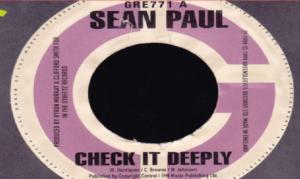 Check It Deeply Lyrics - Sean Paul