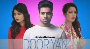Dooriyan Lyrics (Full Video) - Guri