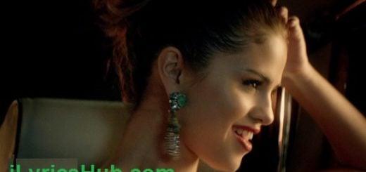 Slow Down Lyrics - Selena Gomez