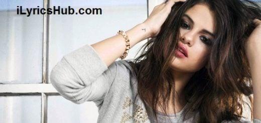 As A Blonde Lyrics - Selena Gomez & The Scene