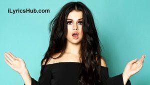 Fantasma De Amor Lyrics - Selena Gomez & The Scene