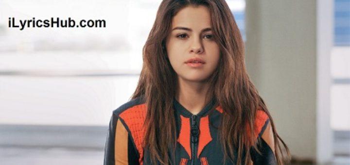 When The Sun Goes Down Lyrics - Selena Gomez & The Scene