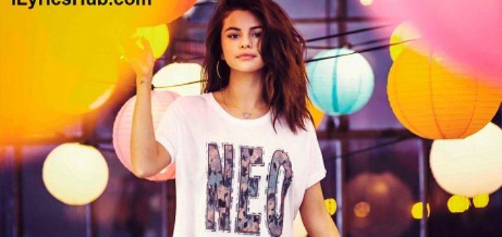 Whiplash Lyrics - Selena Gomez & The Scene