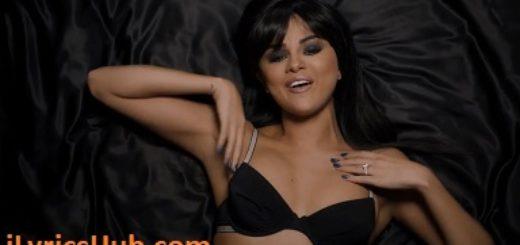 Hands To Myself Lyrics - Selena Gomez