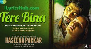Tere Bina Lyrics (Full Video) - Arijit Singh, Priya Saraiya