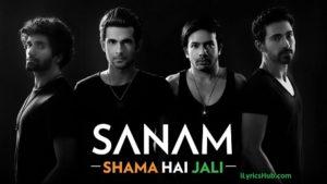 Shama Hai Jali Lyrics - Sanam (Independence Day Special)