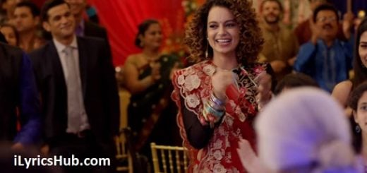 Lagdi Hai Thaai Lyrics (Full Video) - Simran, Kangana Ranaut, Guru Randhawa