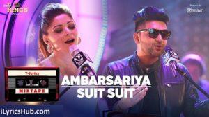 Ambarsariya Suit Lyrics - T-Series Mixtape