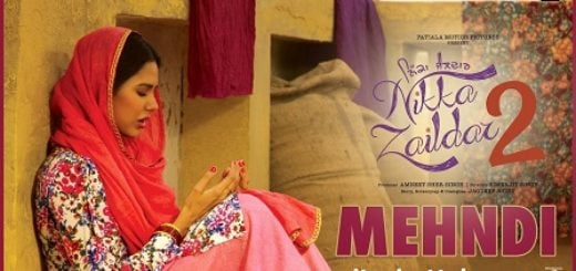 Mehandi Lyrics (Full Video) - Nikka Zaildar 2 |Sonam Bajwa, Ammy Virk |