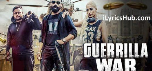 Guerrilla War Lyrics (Full Video) - Amrit Maan Ft. DJ Goddess