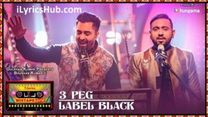 3 Peg Label Black Lyrics (Full Video) - T-Series Mixtape Punjabi