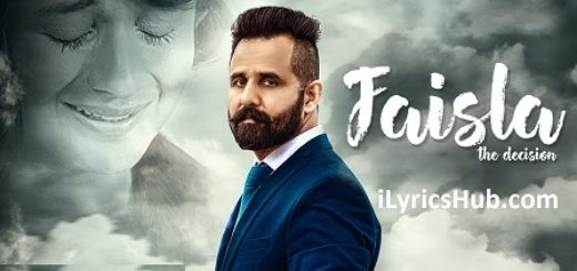Faisla Lyrics (Full Video) - Jagdeep Jublee | Xtatic |