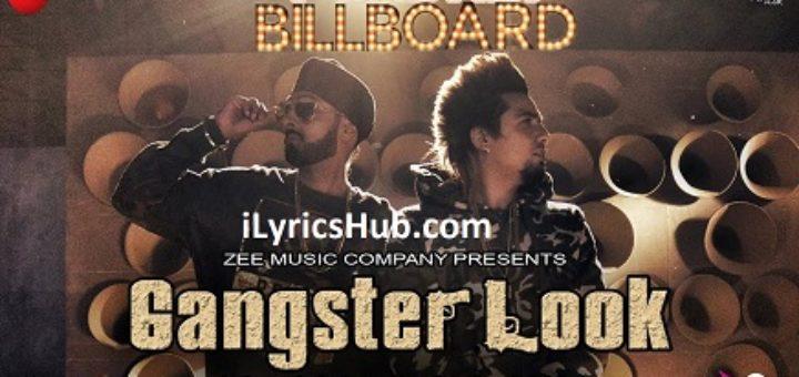 Gangster Look Lyrics - Manj Musik ft. A-Kay