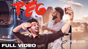 Peg Lyrics (Full Video) - B Jay Randhawa Ft. Guri & Sharry Maan