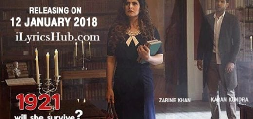 Tere Bina Lyrics - 1921 | Zareen Khan & Karan Kundrra |