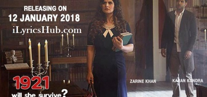 Tere Bina Lyrics - 1921 | Zareen Khan & Karan Kundrra |