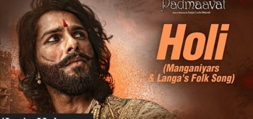 Holi Lyrics - Padmaavat