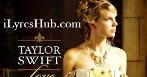 Love Story Lyrics (Full video) - Taylor Swift