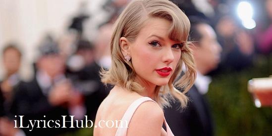 Mine Lyrics Taylor Swift Popular Song Ilyricshub