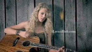 Tim McGraw Lyrics (Full Video) - Taylor Swift