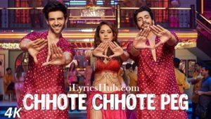Chhote Chhote Peg Lyrics (Full Video) - Yo Yo Honey Singh, Neha Kakkar