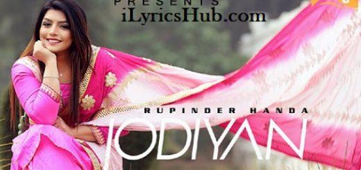 Jodiyan Lyrics (Full Video) - Rupinder Handa