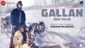 Gallan Lyrics (Full Video) - Manj Musik, Candice James