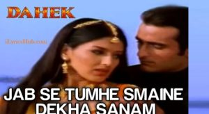 Jab Se Tumhe Maine Dekha Sanam Lyrics (Full Video) - Udit Narayan