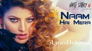 Naam Hai Mera Lyrics - Hate Story 4 | Urvashi Rautela