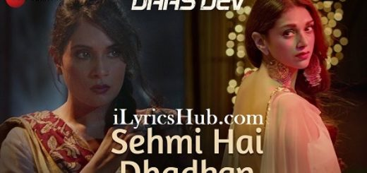 Sehmi Hai Dhadkan Lyrics (Full Video) - Daas Dev